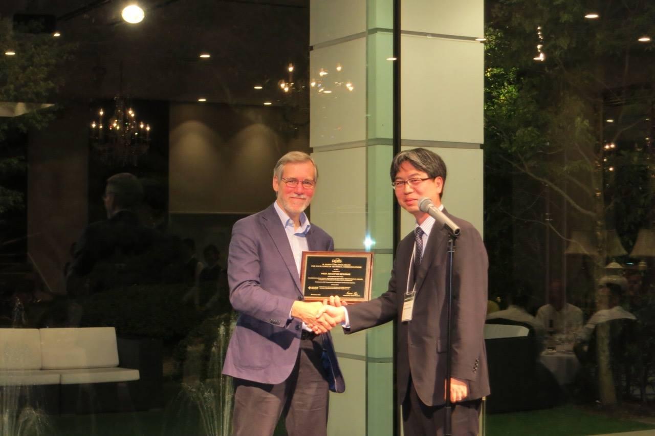 """宮武昌史教授がIEEEの""""M.Barry Carlton Award""""を受賞しました"""